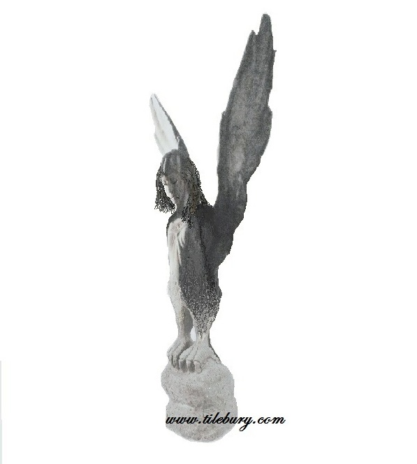A Stone statue of a Harpy